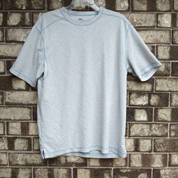 Tommy Bahama Other - Tommy Bahama men's size medium light gray t-shirt